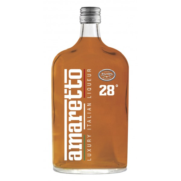 Zanin 1895 - Luxury Italian Liqueur - Amaretto - 28 % vol. - Diamond Line - Liquore Amaretto - Spirit of Excellence