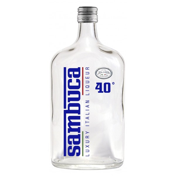 Zanin 1895 - Luxury Italian Liqueur - Sambuca - 40 % vol. - Diamond Line - Liquore Sambuca - Spirit of Excellence