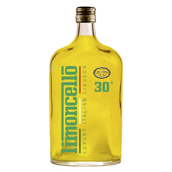 Zanin 1895 - Luxury Italian Liqueur - Limoncello - 30 % vol. - Diamond Line - Liquore Limoncello - Spirit of Excellence