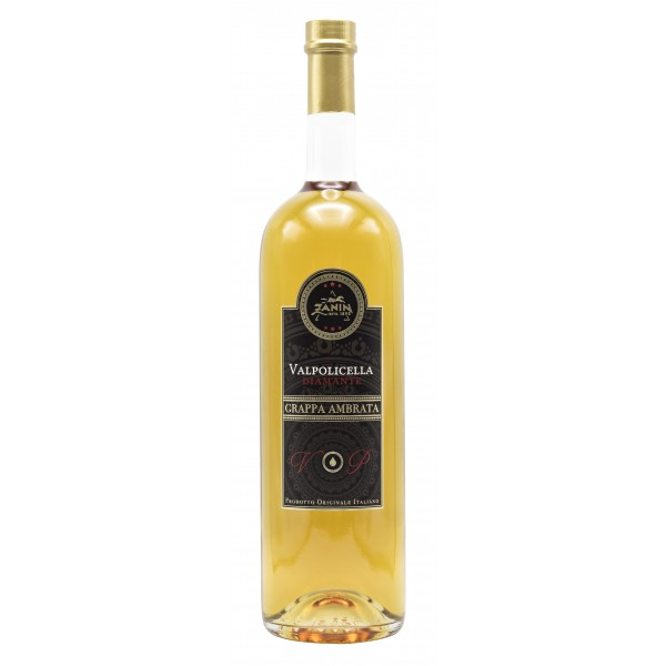 Zanin 1895 - Golmar - Grappa Ambrata - Valpolicella - Diamante - Made in Italy - 40 % vol. - Spirit of Excellence