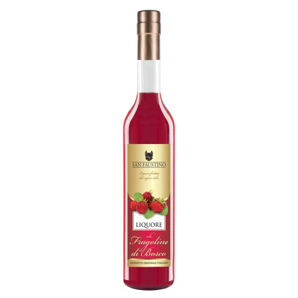 Zanin 1895 - San Faustino - Liquore Fragoline di Bosco - Made in Italy - 25 % vol. - Spirit of Excellence