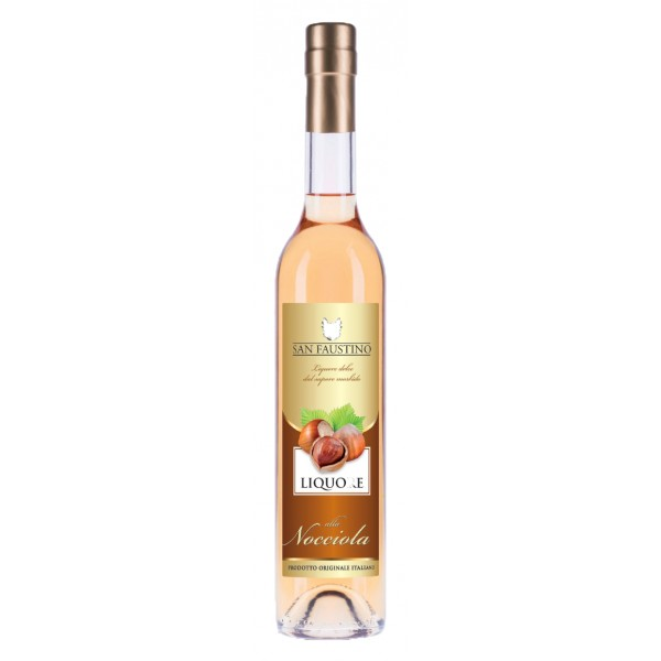 Zanin 1895 - San Faustino - Liquore alla Nocciola - Made in Italy - 20 % vol. - Spirit of Excellence