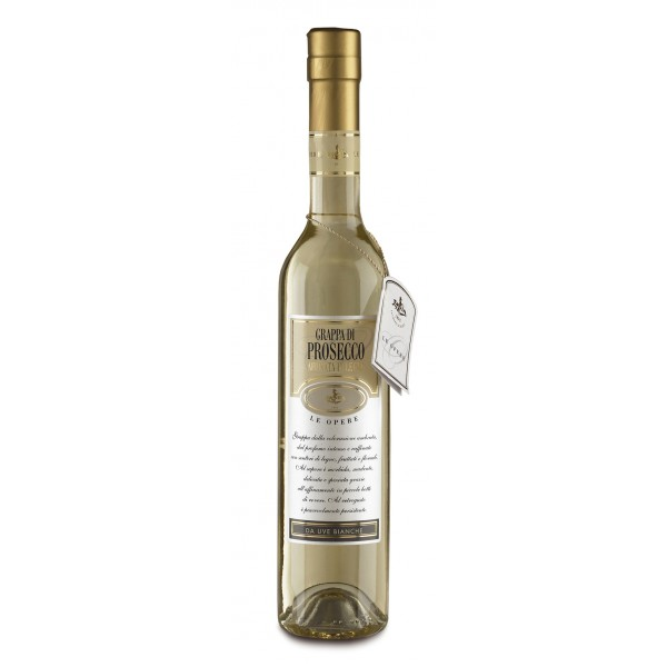 Zanin 1895 - Le Opere - Grappa di Prosecco Barricata Affinata - Made in Italy - 40 % vol. - Spirit of Excellence