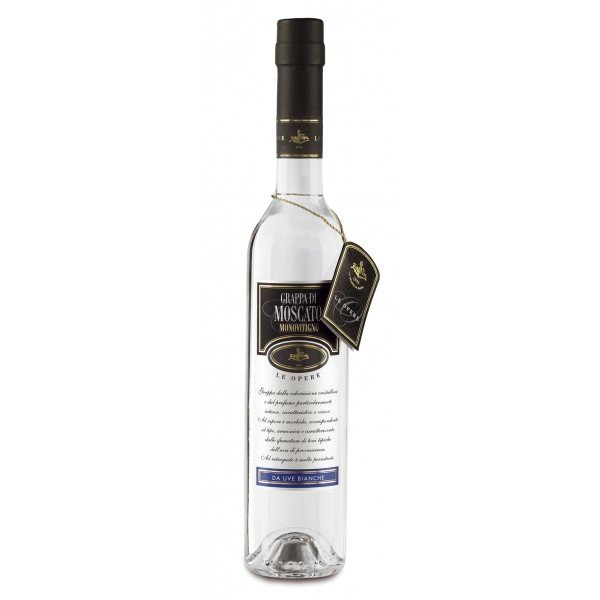 Zanin 1895 - Le Opere - Grappa di Moscato - Made in Italy - 40 % vol. - Spirit of Excellence