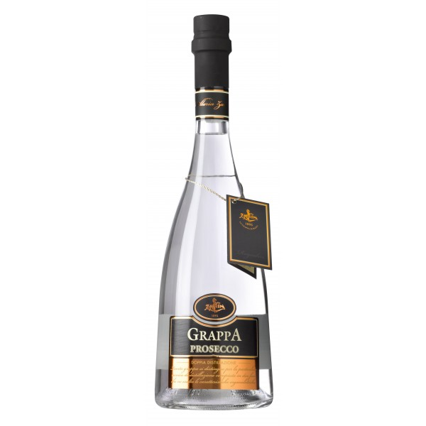 Zanin 1895 - Doppia Distillazione - Grappa di Prosecco - Made in Italy - 40 % vol. - Spirit of Excellence