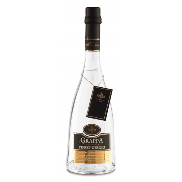 Zanin 1895 - Doppia Distillazione - Grappa di Pinot Grigio - Made in Italy - 40 % vol. - Spirit of Excellence