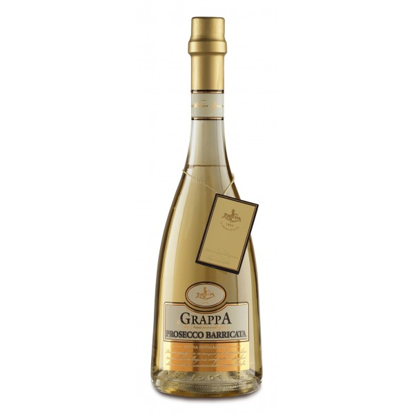 Zanin 1895 - Doppia Distillazione - Grappa di Prosecco Barricata - Made in Italy - 40 % vol. - Spirit of Excellence