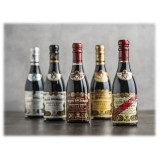 Acetaia Giuseppe Giusti - Modena 1605 - 5 Champagnottine - Wooden Gift Collections - Balsamic Vinegar of Modena I.G.P.