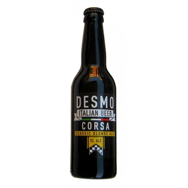 Desmo Italian Beer - Bionda - Birra Artigianale Italiana - 330 ml