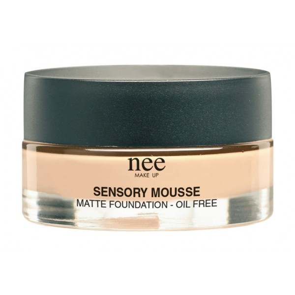 Nee Make Up - Milano - Sensory Mousse Matte Foundation - Compact Foundation / Mousse - Face - Professional Make Up