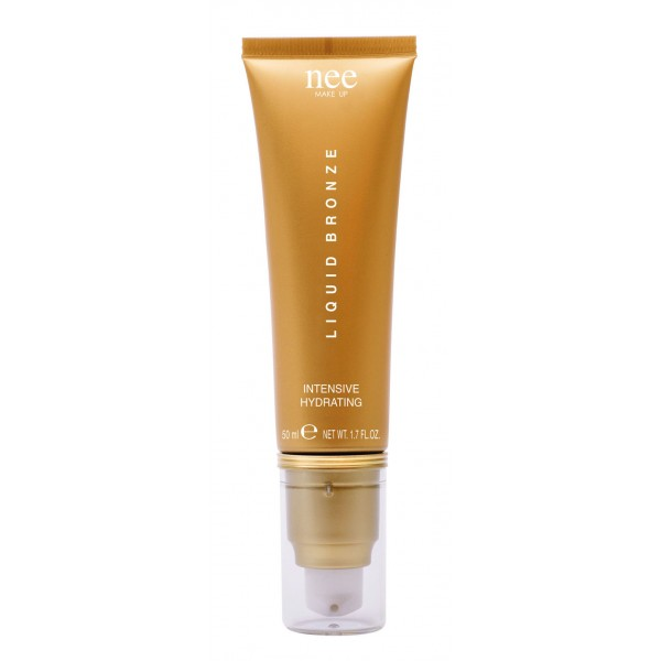 Nee Make Up - Milano - Liquid Bronze Intensive Hydrating + Net Bag - Terre Compatte / Liquide - Viso - Make Up Professionale