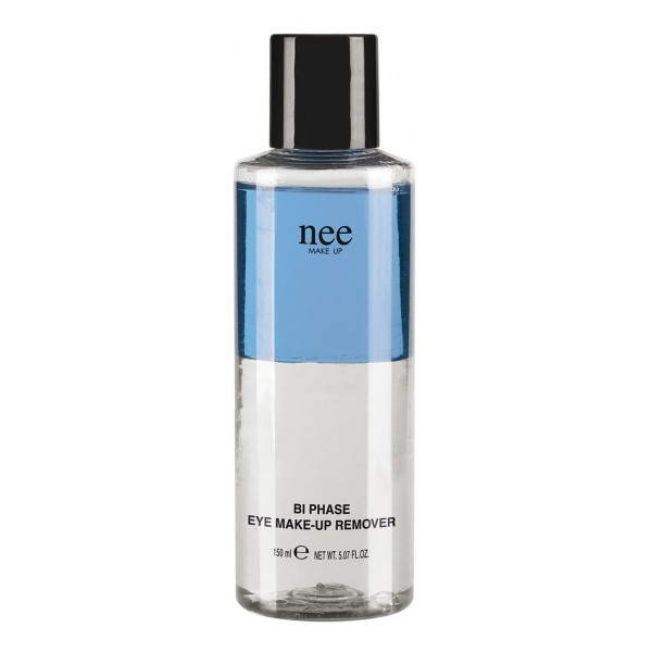 Nee Make Up - Milano - Biphase Eye Makeup Remover - Detergenti e Fissatori - Viso - Make Up Professionale - 150 ml