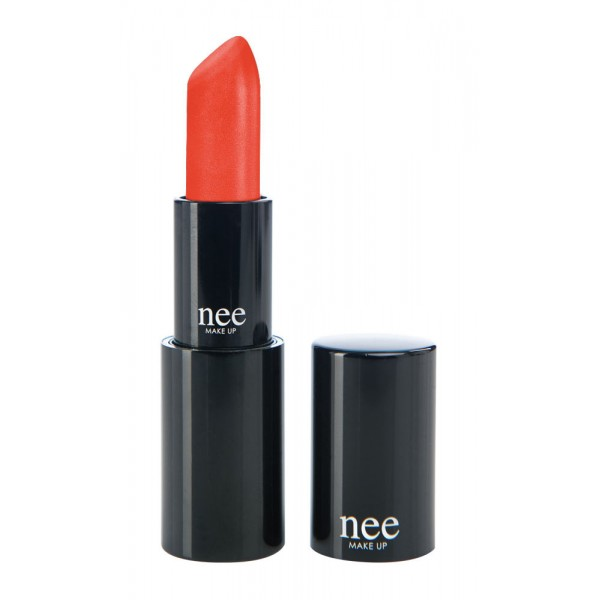 Nee Make Up - Milano - Cream Lipstick Satinato-Cremoso Tigerlily 132 - Cream Lipstick - Lips - Professional Make Up