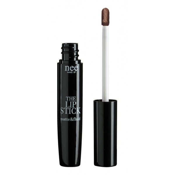 Nee Make Up - Milano - The Lipstick Matte & Fluid Dark Brown 61 - The Lipstick Matte & Fluid - Lips - Professional Make Up