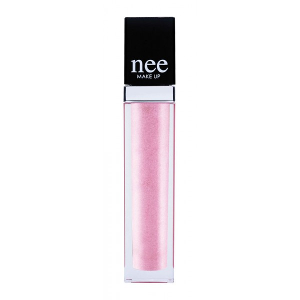 Nee Make Up - Milano - Brightness Gloss Pink R2 - Vinyl Gloss - Lips - Professional Make Up