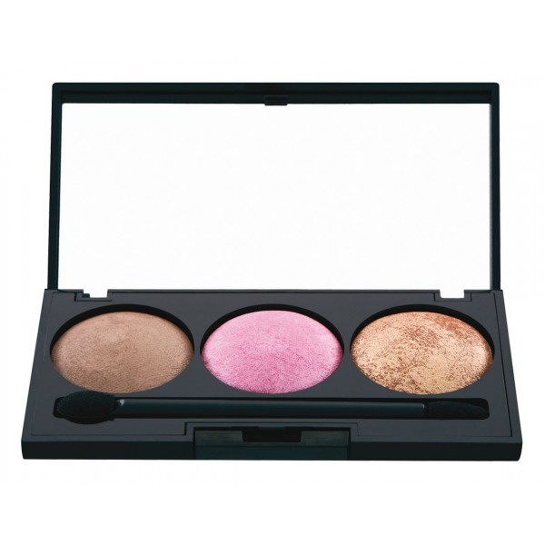 Nee Make Up - Milano - Trousse All Over - Face - Eyes - Palette - Professional Make Up
