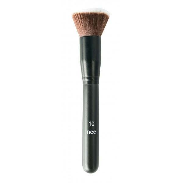 Nee Make Up - Milano - Duo Fiber Brush N° 10 - Face - Brushes - Professional Make Up