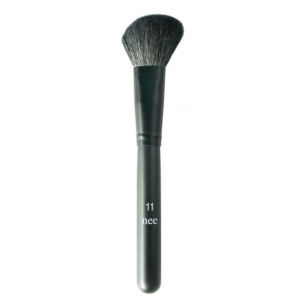 Nee Make Up - Milano - Powder-Blush Brush N° 11 - Viso - Pennelli - Make Up Professionale