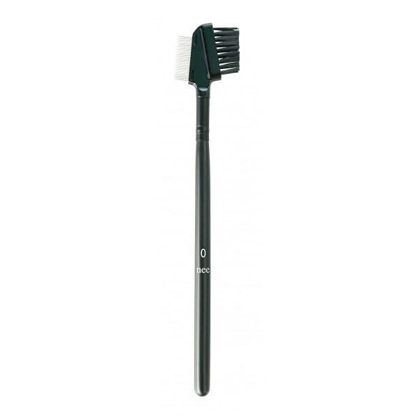Nee Make Up - Milano - Comb Brush With Bristles N° 0 - Eyes - Lips - Brushes - Professional Make Up