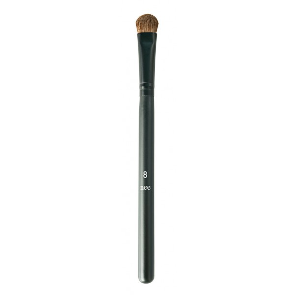 Nee Make Up - Milano - Large Shader Brush N° 8 - Occhi - Labbra - Pennelli - Make Up Professionale