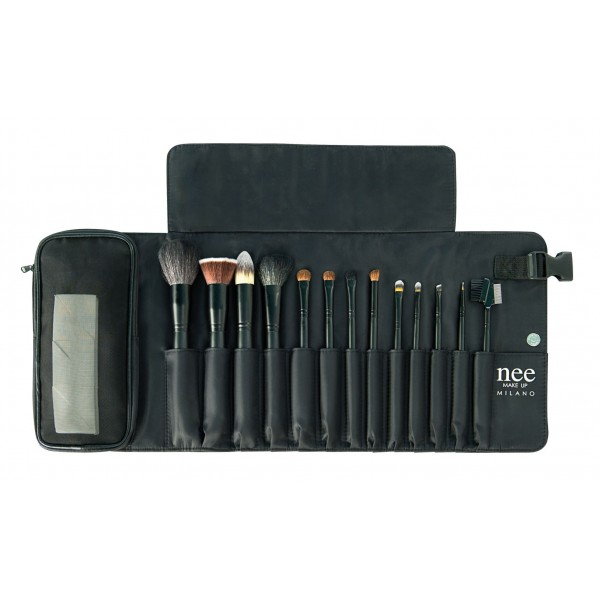 Nee Make Up - Milano - Professional Brush Trousse - Accessories - Brushes - Professional Make Up