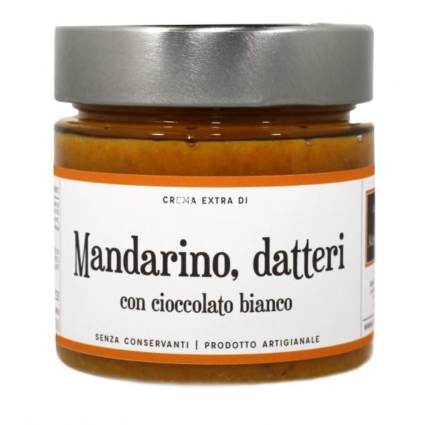 Alessio Brusadin - Crema Extra di Mandarino Tardivo, Datteri e Cioccolato Bianco - Creme Extra al Cioccolato - Creme Artigianali