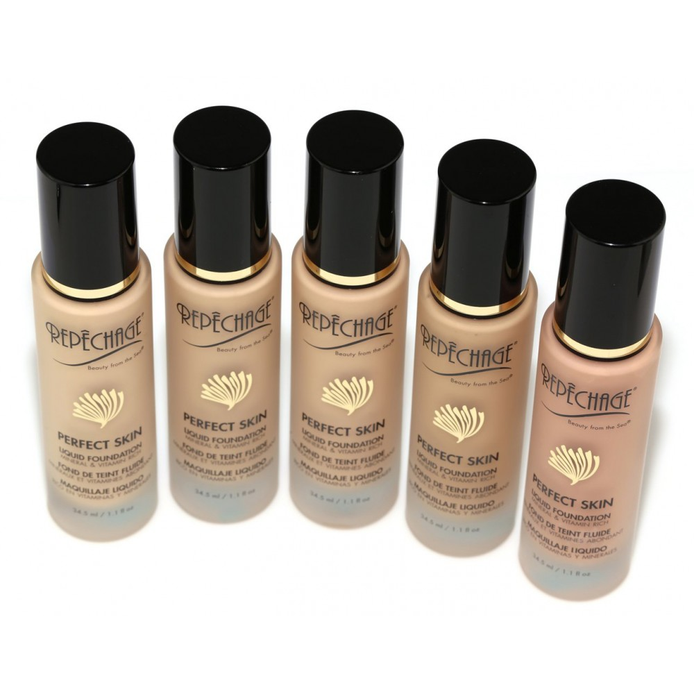 Repchage Perfect Skin Liquid Foundation Cool Tone Ps3 Make Over Up