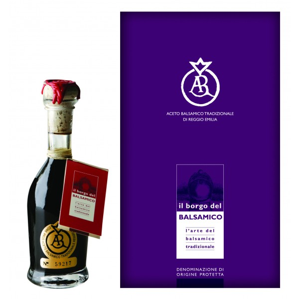 Il Borgo del Balsamico - Traditional Balsamic Vinegar of Reggio Emilia D.O.P. - 25 Years - Gold Stamp / Extra-Old