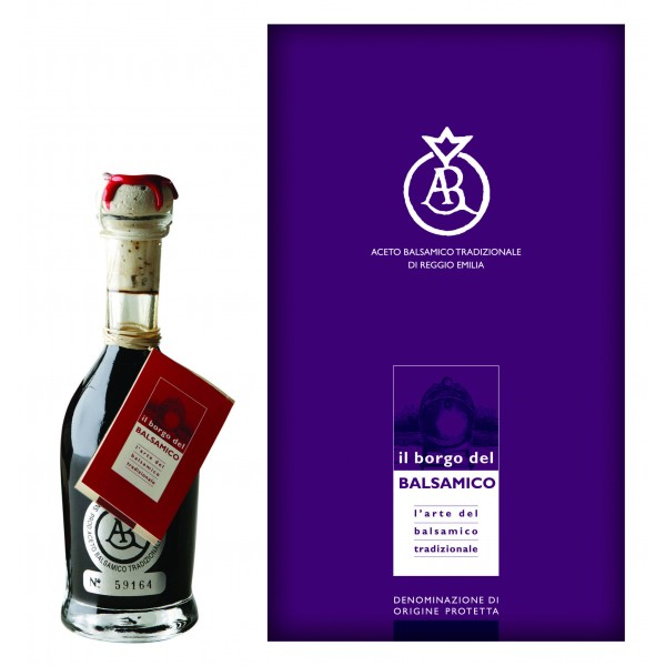 Il Borgo del Balsamico - Traditional Balsamic Vinegar of Reggio Emilia D.O.P. - 15 Years - Silver Stamp / Aged