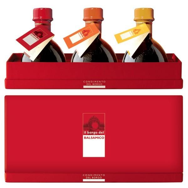 Il Borgo del Balsamico - The Condiment of The Borgo - The Big Tris - Balsamic Vinegar of The Borgo
