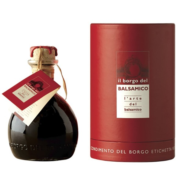 Il Borgo del Balsamico - The Condiment of The Borgo - Red Label - Red Cylinder - Balsamic Vinegar of The Borgo