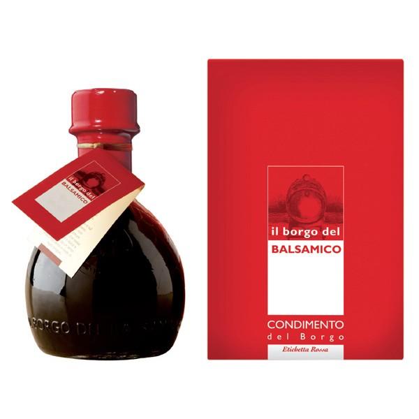 Il Borgo del Balsamico - Il Condimento del Borgo - Etichetta Rossa - Aceto Balsamico del Borgo