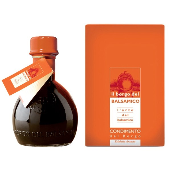 Il Borgo del Balsamico - The Condiment of The Borgo - Orange Label - Balsamic Vinegar of The Borgo