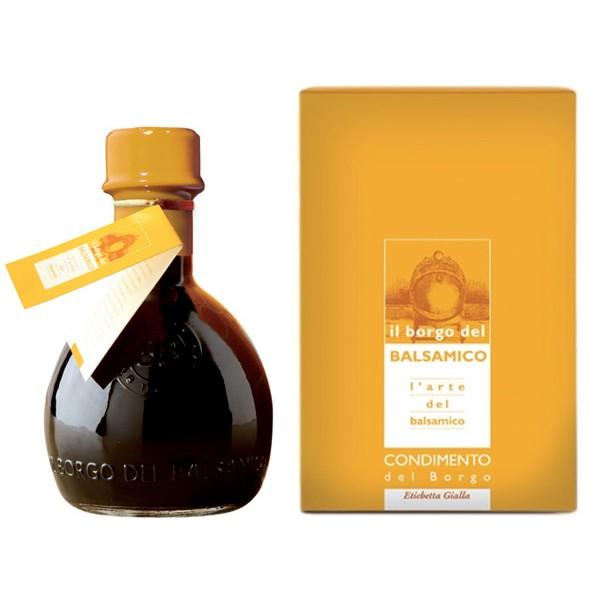 Il Borgo del Balsamico - The Condiment of The Borgo - Yellow Label - Balsamic Vinegar of The Borgo