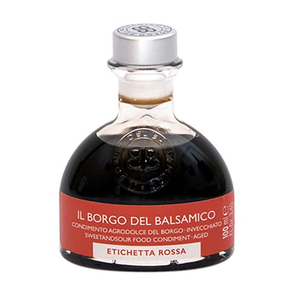 Il Borgo del Balsamico - The Condiment of The Borgo - Red Label - Balsamic Vinegar of The Borgo - 100 ml