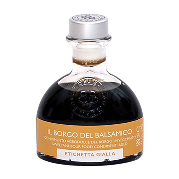 Il Borgo del Balsamico - The Condiment of The Borgo - Yellow Label - Balsamic Vinegar of The Borgo - 100 ml