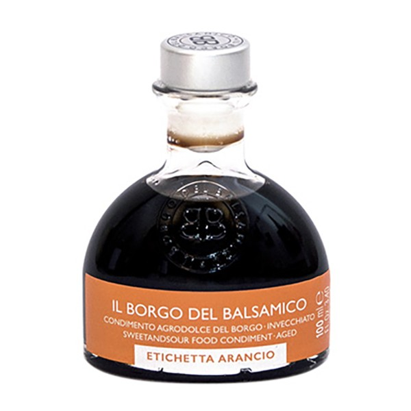 Il Borgo del Balsamico - The Condiment of The Borgo - Orange Label - Balsamic Vinegar of The Borgo - 100 ml