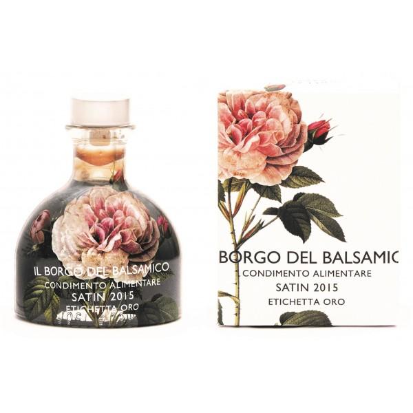 Il Borgo del Balsamico - Il Condimento del Borgo - Satin - Collezione 2015 - Aceto Balsamico del Borgo
