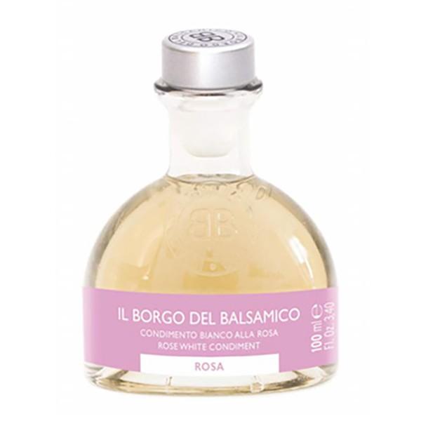 Il Borgo del Balsamico - I Profumati - Condimento Bianco alla Rosa - Aceto Balsamico del Borgo