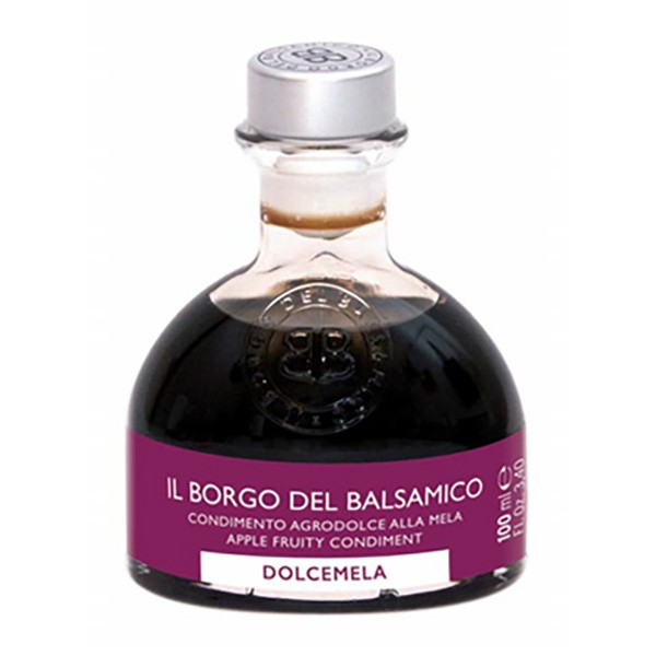 Il Borgo del Balsamico - The Juicy - Dolcemela - Apple Sweet and Sour Dressing - Balsamic Vinegar of The Borgo