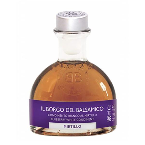 Il Borgo del Balsamico - I Succosi - Condimento Bianco al Mirtillo - Aceto Balsamico del Borgo