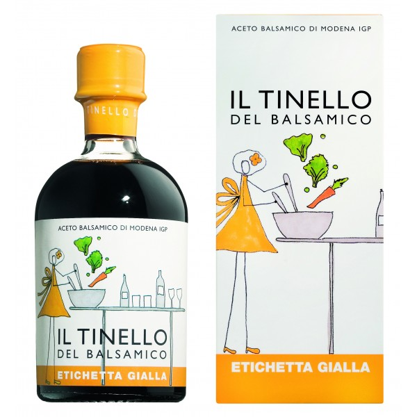 Il Borgo del Balsamico - Balsamic Vinegar of Modena I.G.P. of Dinette - Yellow Label - Balsamic Vinegar of The Borgo