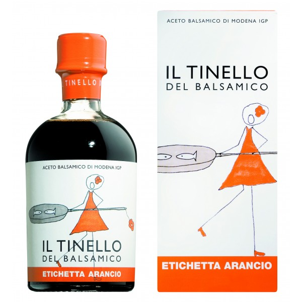 Il Borgo del Balsamico - Balsamic Vinegar of Modena I.G.P. of Dinette - Orange Label - Balsamic Vinegar of The Borgo
