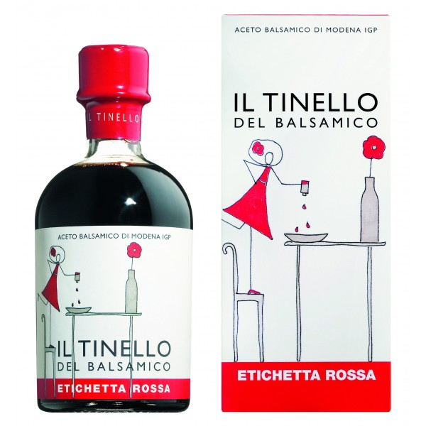 Il Borgo del Balsamico - Balsamic Vinegar of Modena I.G.P. of Dinette - Red Label - Balsamic Vinegar of The Borgo