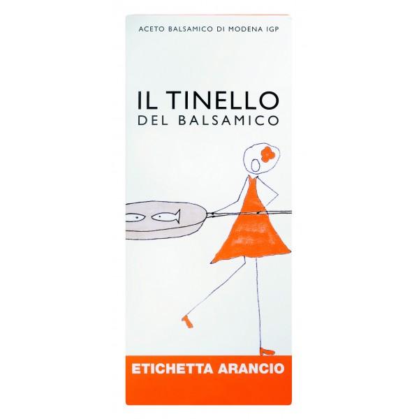 Il Borgo del Balsamico - Aceto Balsamico di Modena I.G.P. del Tinello - Etichetta Arancio - Aceto Balsamico del Borgo - 3 l