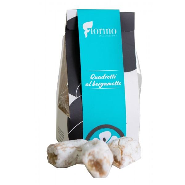 Pasticceria Fiorino - Cedrini - Quadrotti al Bergamotto - Sicilian Almond Cookies - Fine Pastry