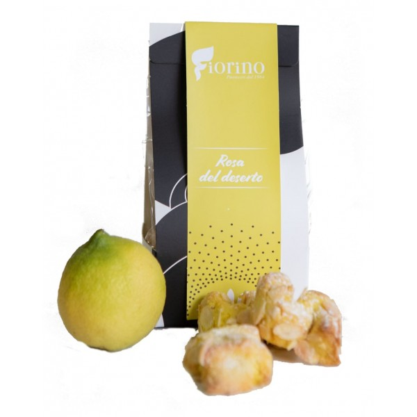 Pasticceria Fiorino - Rosa del Deserto - Sicilian Almond Cookies - Fine Pastry