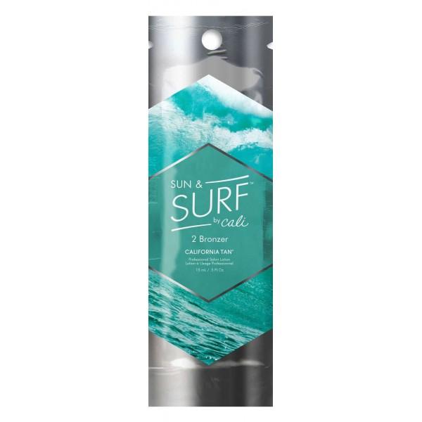 California Tan - Sun & Surf™ by Cali Bronzer - Step 2 Bronzer - Professional Tanning Lotion - 15 ml