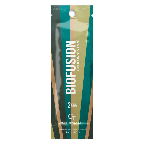 California Tan - Biofusion™ Natural Bronzer - Step 2 Bronzer - Linea Biofusion - Lozione Abbronzante Professionale - 15 ml