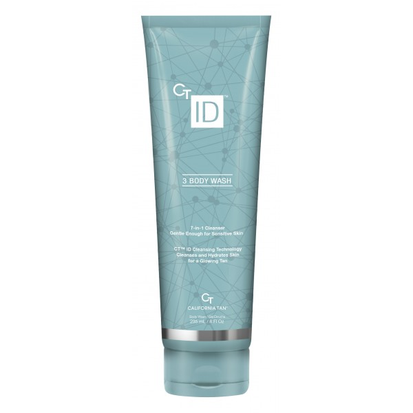 California Tan - CT ID™ Body Wash - Step 3 - Detergente Idratante 7 in 1 - Optimizing Technology - Lozione Professionale